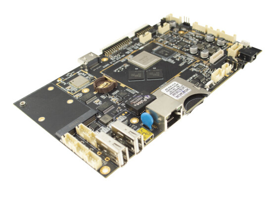 HDMI Out Embedded System Board Android OS With Dc In Dual Screen Interface