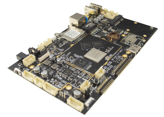MINI PCIE Embedded ARM Board 3G 4G Module Dual Camera Interface 50-60HZ